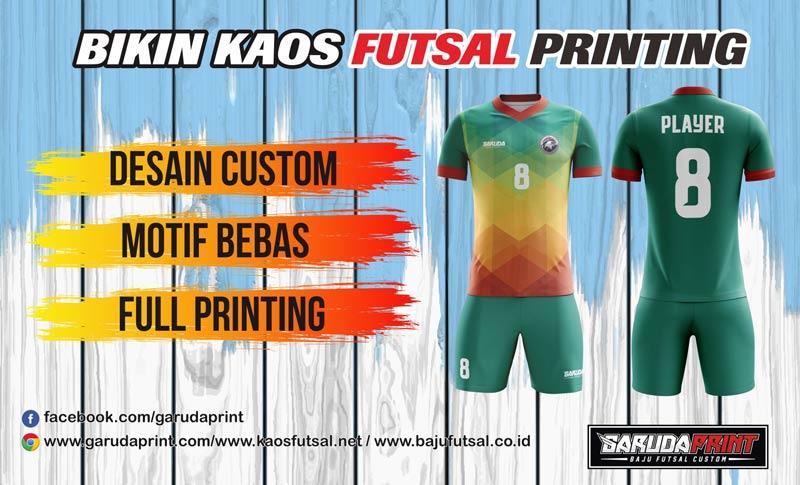 Print Jersey Bola Futsal Di Kota Parit Malintang Gratis Desain