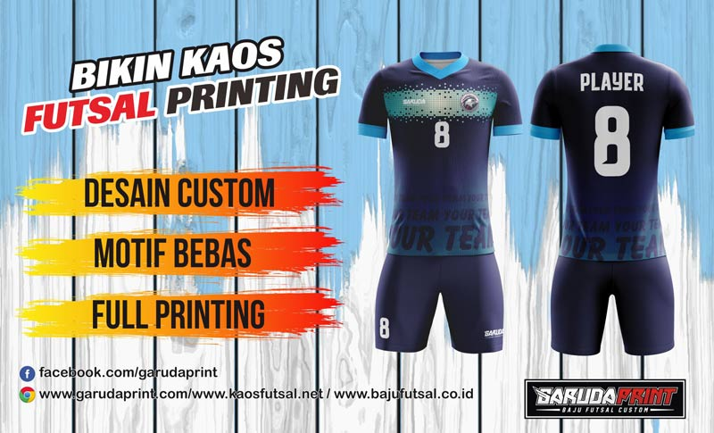 Printing Jersey Futsal Di Kota Lubuk Sikaping Kualitas Terbaik