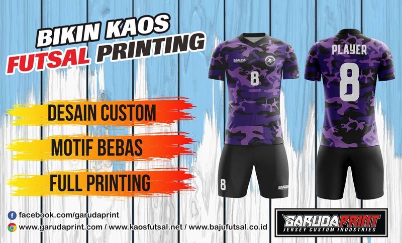 Print Baju Futsal Di Kotang Simpang Ampek Desain Sendiri
