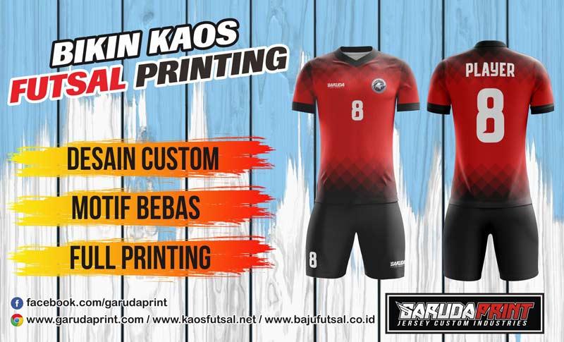 Printing Jersey Futsal Di Kota Martapura Kualitas Paling Bagus