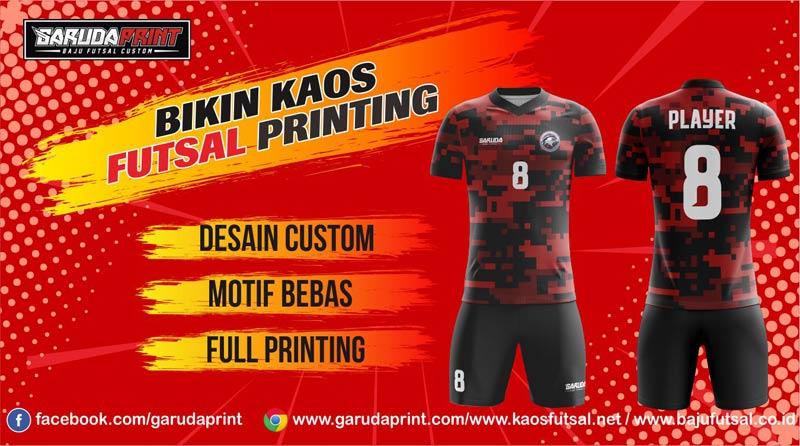 Print Jersey Futsal Di Kota Sanggata Gratis Desain