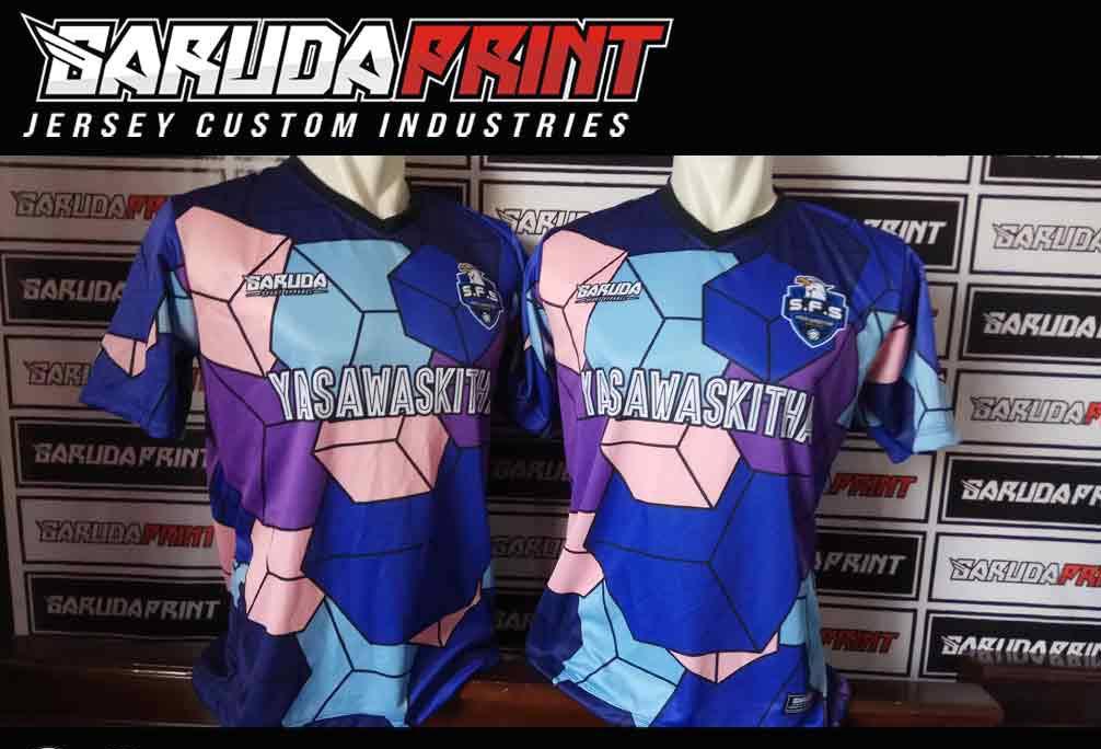 Print Baju Futsal Di Kota Buntok Desain Terbaru