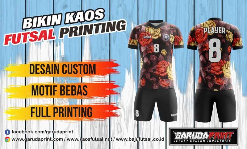 Print Baju Futsal Di Kota Kuala Kurun Gratis Desain