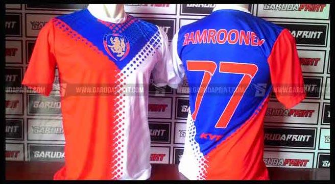 Print Kaos Futsal Di Kota Samarinda Gratis Desain