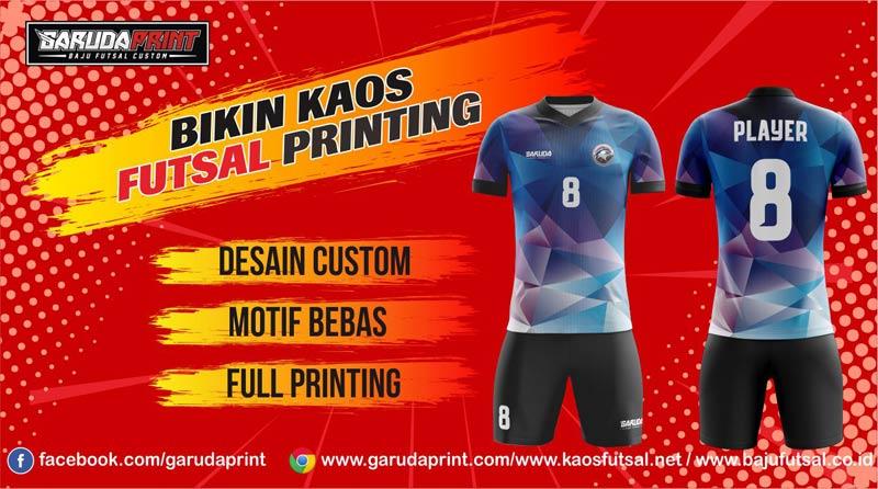 Printing Jersey Futsal Di Kota Balikpapan Pilihan Lengkap