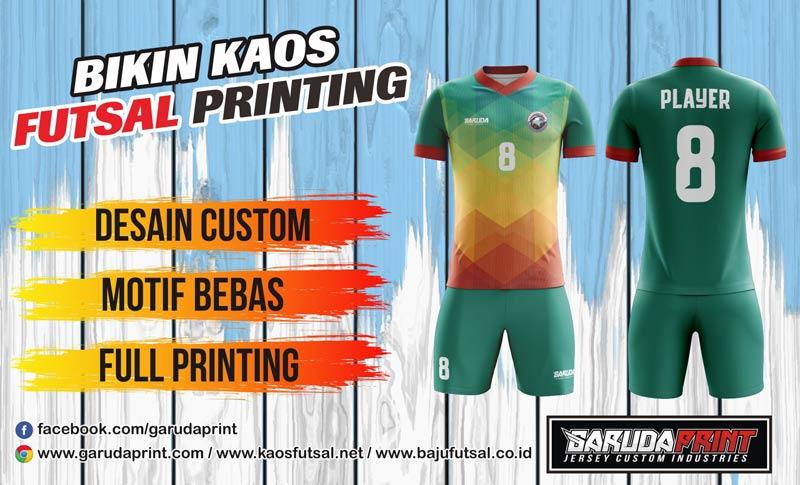 Printing Jersey Futsal Di Kota Buntok Yang Berpengalaman