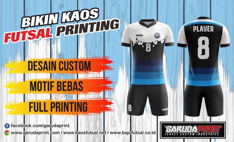 Printing Jersey Futsal Di Kota Samarinda Harga Murah Berkualitas