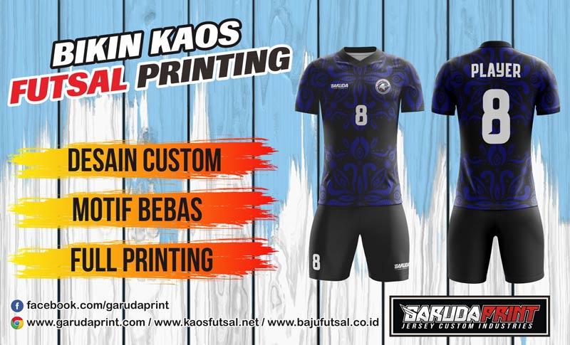 Printing Jersey Futsal Di Kota Ujoh Bilang Paling Bagus