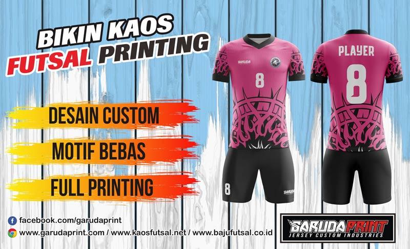 Print Baju Futsal Di Kota Palangka Raya Online Layanan Cepat