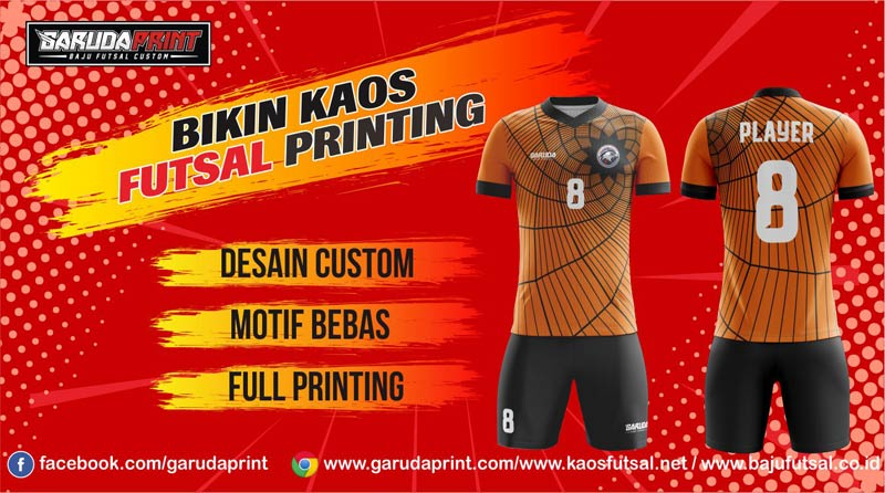 Print Baju Futsal Di Kota Putussibau Yang Terpercaya