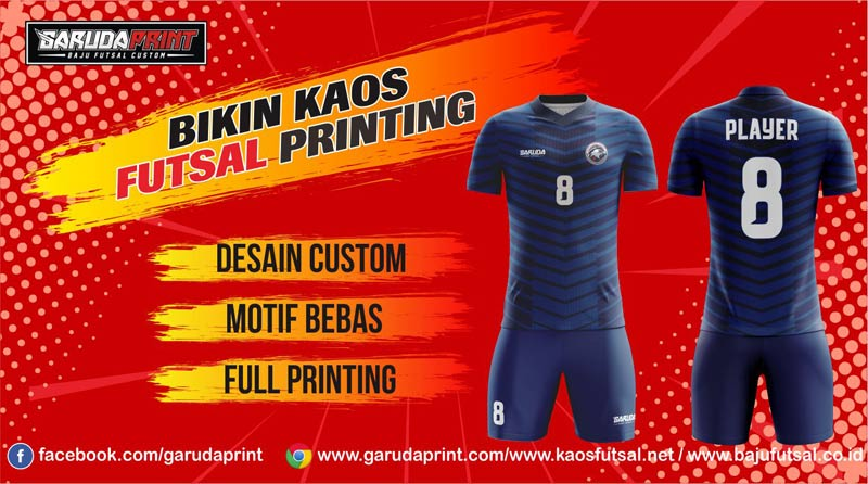 Print Baju Futsal Di Kota Tumbang Titi Yang Terpercaya