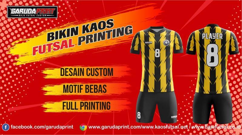 Print Jersey Futsal Di Kota Ngabang Harga Paling Murah