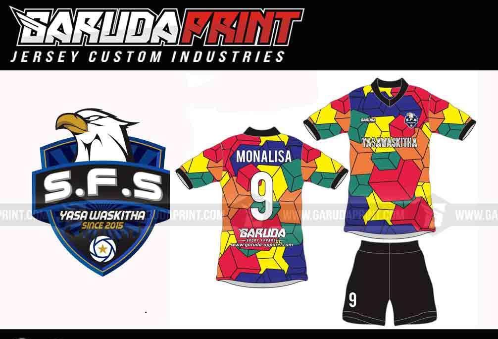 Print Jersey Futsal Di Kota Sukadana Gratis Desain