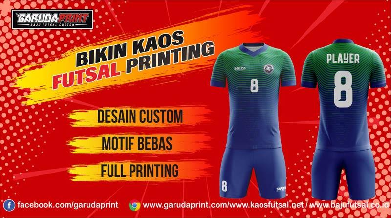 Printing Baju Futsal Di Kota Ngabang Gratis Desain