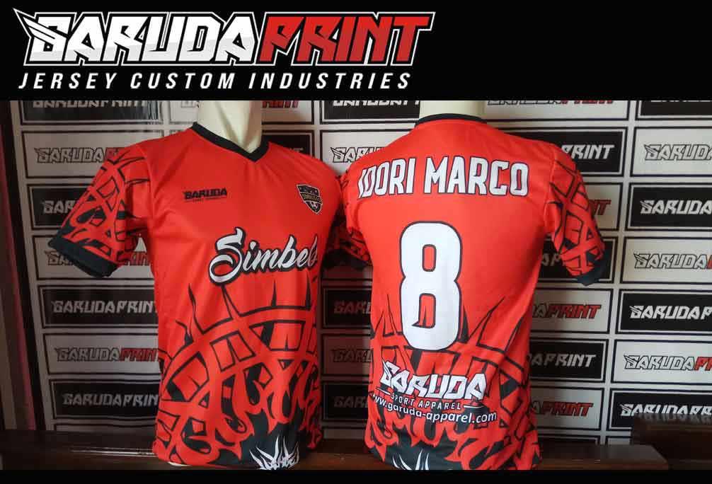 Printing Jersey Futsal Di Kota Kuala Pembuang Melayani Online