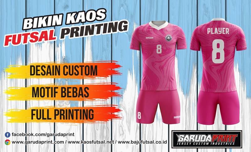 Printing Jersey Futsal Di Kota Pulang Pisau Kualitas Terbaik