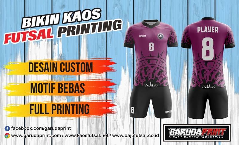 Printing Jersey Futsal Di Kota Putussibau Harga Murah Berkualitas