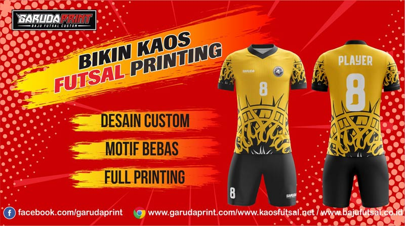 Printing Jersey Futsal Di Kota Sukamara Kualitas Terbaik