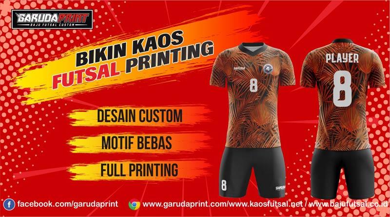 Printing Jersey Futsal Di Kota Sungai Raya Online